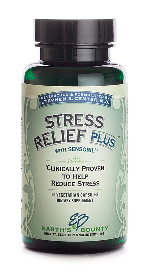 Stress Relief Plus - 60 Vegetarian Capsules